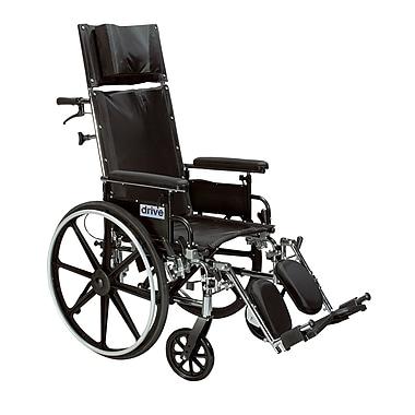 Drive Medical Viper Plus GT Full Reclining Wheelchair, 20