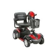 Drive Medical Ventura 4 Wheel Scooter, 18 Folding seat