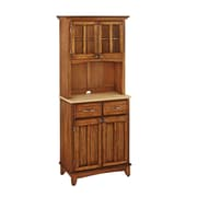 Home Styles 71.5 Asian Hardwood Buffet and Hutch
