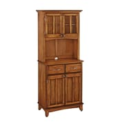 Home Styles 71.5 Wood Buffet Server & Hutch