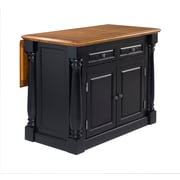 Home Styles 36 Solid Hardwood  Monarch Kitchen Island