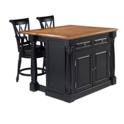 "Home Styles 36"" Solid Hardwood & Engineered Wood Construction Kitchen Island"