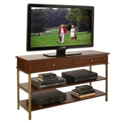 Home Styles 54 Poplar Solid, Cherry and Birch Veneers St. Ives Media TV Stand