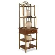 Home Styles 72 Poplar Solids, Cherry Veneers, Birch Veneers Pier Cabinets