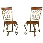 Home Styles St. Ives Dining Chairs Poplar Solids & Cherry Veneers