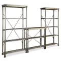 Home Styles The Orleans Powder-Coated Metal Multi-function Marble Storage Unit