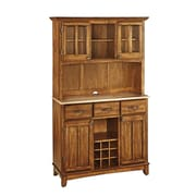 Home Styles 72.25 Asian Hardwood Buffet with Hutch