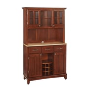 Home Styles 72.2 Asian Hardwood Buffet and Hutch