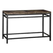 "Home Styles 47.25"" Metal Console Table"