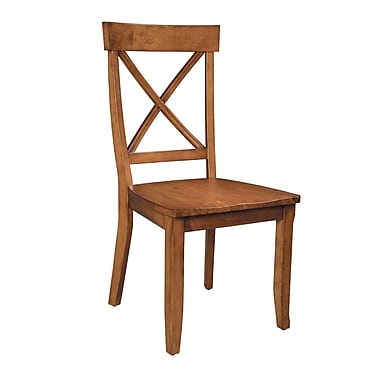Home Styles Hardwood Side Chair - 2 Chairs Wood
