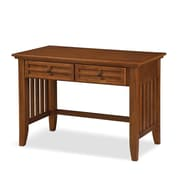 Home Styles Arts and Crafts Student Desk with Asian Hardwoods and Veneers