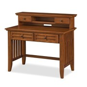 "Home Styles 38.5"" Oak Solid & Oak Veneers Student Desk"