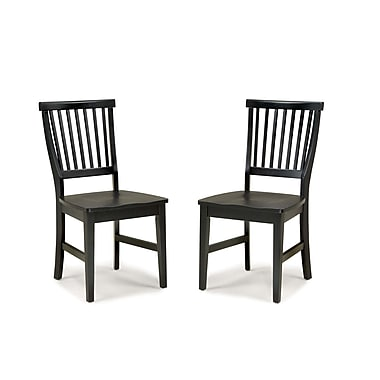 Home Styles Arts & Crafts Wood Side Chair 2/Set