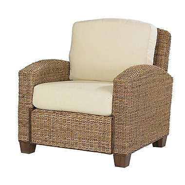 Home Styles Cabana Banana Hardwood & Woven Banana Leaves Chair