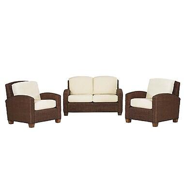 Home Styles Cabana Banana Love Seat and 2 Chairs