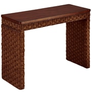 "Home Styles 31.25"" Banana Leaves Accent Tables"
