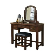 Home Styles Cabin Creek Mahogany solids and veneers Vanity/Bench
