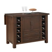 Home Styles 25 Mahogany Solids Veneers Kitchen Island