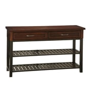 Home Styles 31.5 Poplar Solids and Mahogany Veneers TV Media Stand