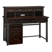 "Home Styles 23"" Poplar Solids and Mahogany Veneers Cabin Creek Executive Desk/Hutch/Mobile File"