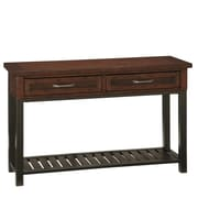 Home Styles 28 Poplar Solids and Mahogany Veneers Console Table