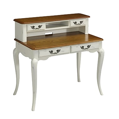 Home Styles French Countryside Student Desk and Hutch