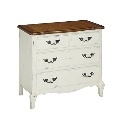 Home Styles French Countryside Hardwood Solids Drawer Chest