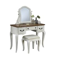 Home Styles French Countryside Hardwood Solids Vanity and Bench