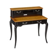 Home Styles 40 Engineered Wood & Oak Veneers Student Desk and Hutch