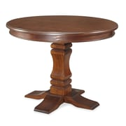 Home Styles Mahogany Solids, Engineered Wood and Cherry Veneers Pedestal Dining Table