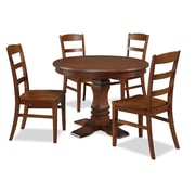 Home Styles The Aspen Collection Pedestal Dining Set 5