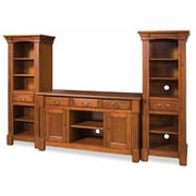 Home Styles 64 Aspen 3 Piece Poplar Solids and Cherry Veneers Entertainment Center