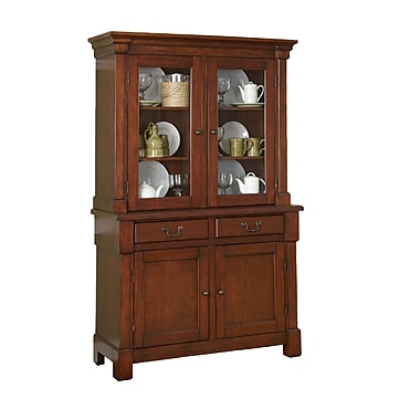 Home Styles Wood Buffet and Hutch