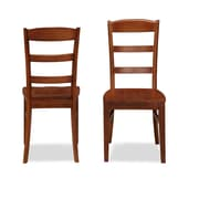 Home Styles Aspen Collection Ladder Back Hardwood Solids Dining Chairs