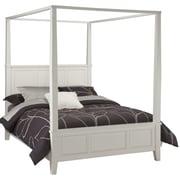 "Home Styles 60.2"" Hardwood Solids Naples Canopy Bed, Queen"