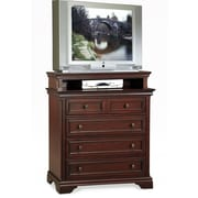 Home Styles Lafayette Wood Media Chest