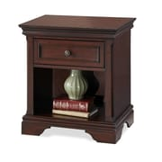 "Home Styles 24"" Antiqued Brass Hardware Night Stand"