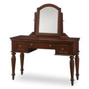Home Styles 57 Wood Lafayette Vanity Table and Mirror