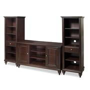 Home Styles 54 Poplar Solid & Sapelli Veneer Entertainment Center