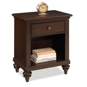 "Home Styles 28"" Bermuda Night Stand Espresso Finish"