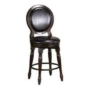 Home Styles Bermuda Mahogany Solids with Albazia Veneers Swivel Counter Stool