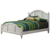 Home Styles White King Bermuda Brushed Bed