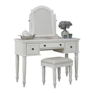 Home Styles Bermuda Mahogany Vanity and Bench