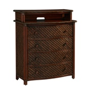 Home Styles Marco Island Veneers Media Chest