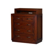 Home Styles Duet Media Chest  Mahogany Media