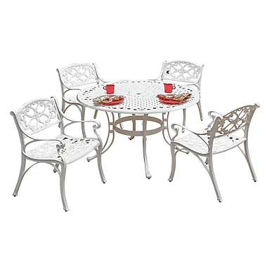 Home Styles Aluminum Outdoor Dining Set