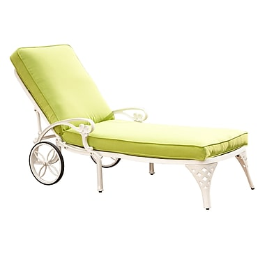 Home Styles Chaise Lounge Chair with Cushion