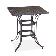 Home Styles Cast aluminum Biscayne Space Saving Rectangle Bistro Table