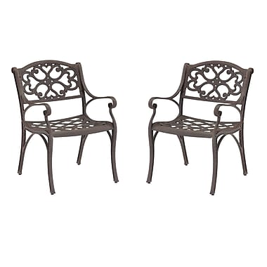 Home Styles Biscayne Aluminum Arm Chair