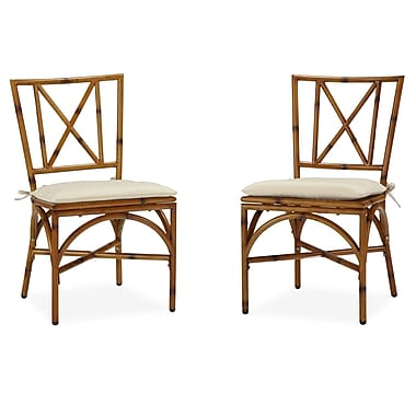 Home styles bimini jim dining chair pair with cushion for Dining chair styles names